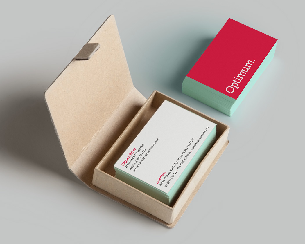 optimum business cards