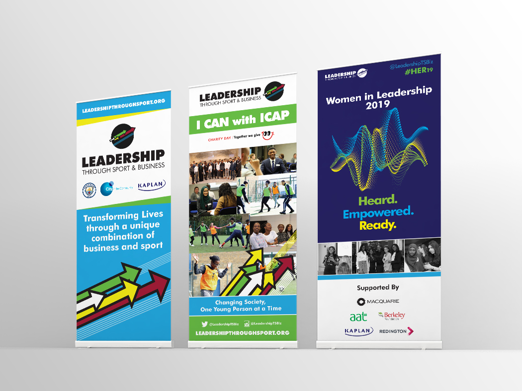 LTSB roller banners